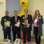 EAG delivers toys to Mott Hospital