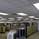 Aging Office Setting Achieves Modern Look With LED Lighting Upgrade
