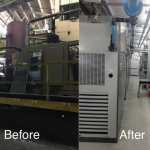 New Center Stamping Installs High Tech System Insuring Reliable Production