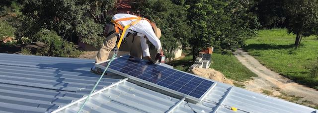 Solar powered energy